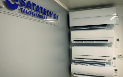 Satatech suurin Mitsubishi Electric -jälleenmyyjä Satakunnan alueella vuonna 2020